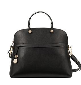 Buy: Furla womens piper onyx handbag