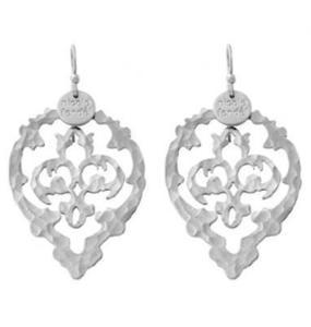 Rent: Nicole Fendel Zahara Earrings (Silver)