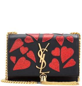 Rent: Saint Laurent YSL small Kate Monogrammed Hearts