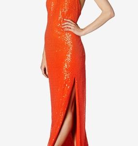 Buy: Carla Zampatti - Red sequin celine maxi gown