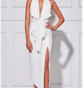 Buy: Misha Collection Lorena Dress White