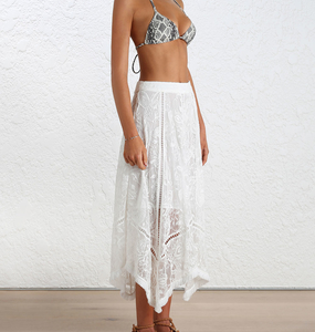 Rent: Zimmerman Henna Floating Fringe Skirt