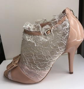 Buy: Alannah Hill Leather & Lace Heels