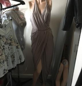 Buy: Pia Gladys Perey Melanie Dress in Latte Colour - BNWTS $350