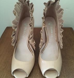 Buy: Jeffery Campbell Ruffle Leather Heels
