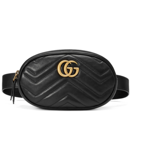 Rent: GUCCI MARMONT BELT BAG - BLACK