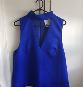 Buy: Say It Right Top in Cobalt