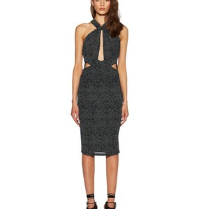 Buy: Bec and Bridge Amulet Twisted Halter Dress